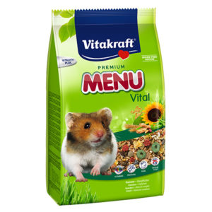 Vitakraft menu hamster food