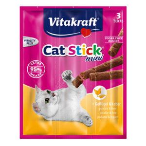 Vitakraft cat stick mini poultry & liver