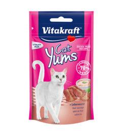 Vitakraft cat yums liver sausage